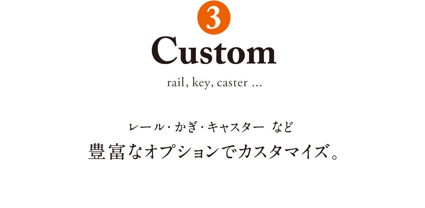 3. Custom