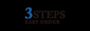 3 STEP EASY ORDER